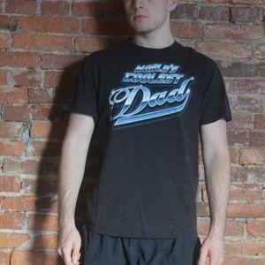 """Retro """"World's Coolest Dad"""" T-Shirt - Vintage 90s"""